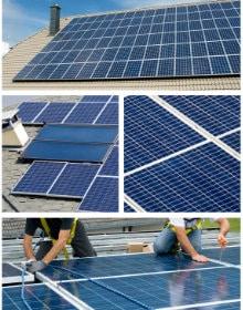 panneau solaire superficie